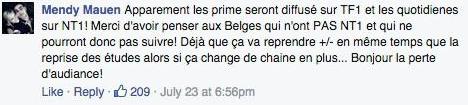 Secret Story 9 : Les Belges en colère !