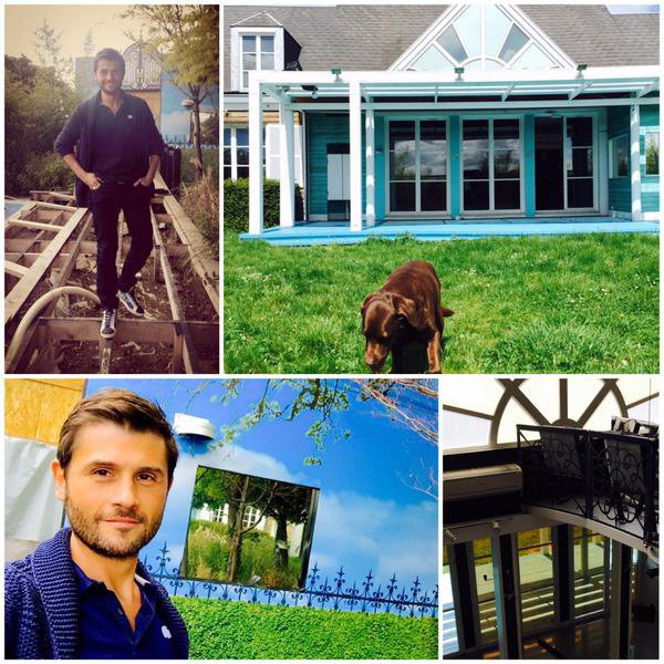 "Secret Story 9 : Christophe Beaugrand dévoile une photo de son chien ""Colby"" devant la maison des secrets ! (REACTUALISATION)"