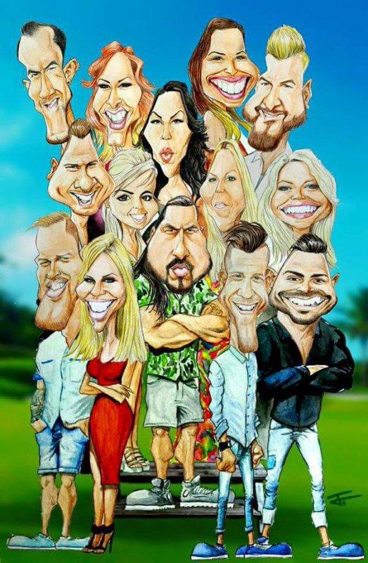 LCVSLM : La caricature hilarante des candidats !