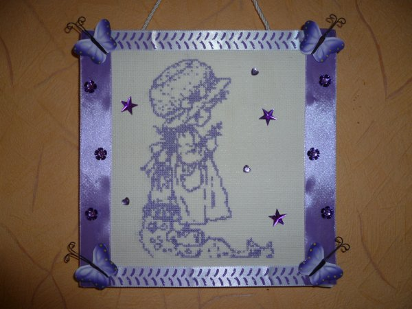 Et encore une petite Sarah Kay pour mon plus grand plaisir ... j'adore ce personnage !!! et le violet !!!