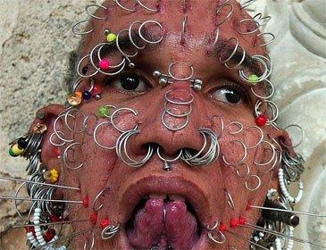 Le piercing ..