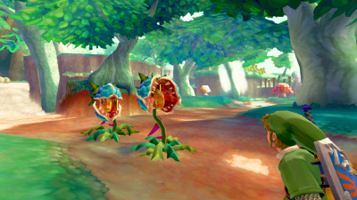 skyward sword : capture d'ecrand