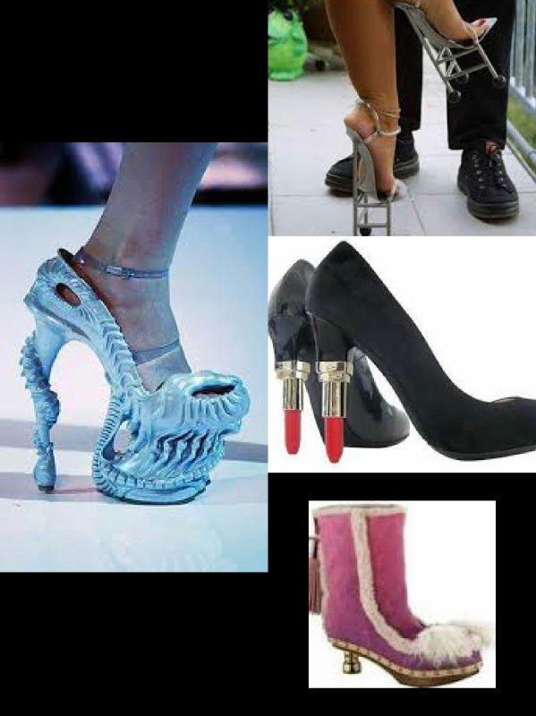 Chaussure A Talon Les Plus Moche