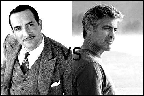 Jean Dujardin contre George Clooney : le match des Oscars !