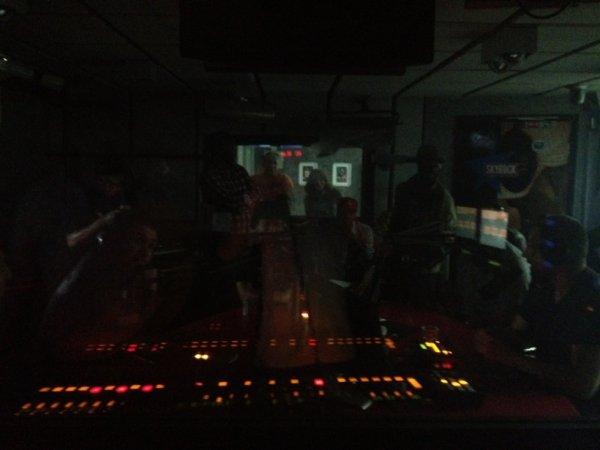 studio Planète Rap dans le noir !!