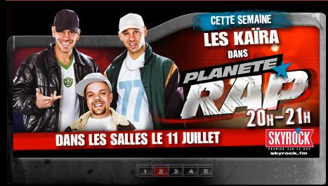 Cette semaine dans Planéte Rap !