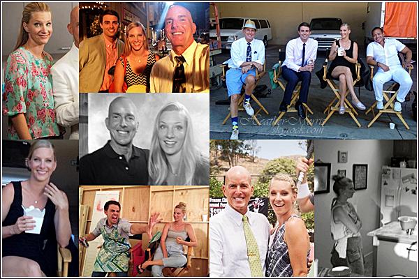 Juillet 2014 | De nouvelles photos d'Heather sur le tournage de Romantically Speaking viennent d'apparaître!