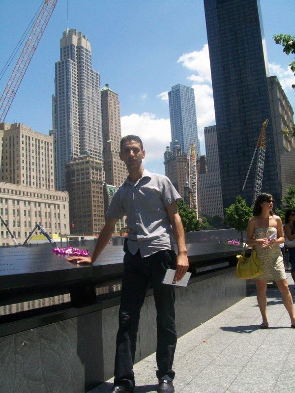 je suis en memoire de 11 september 2001 en new-york