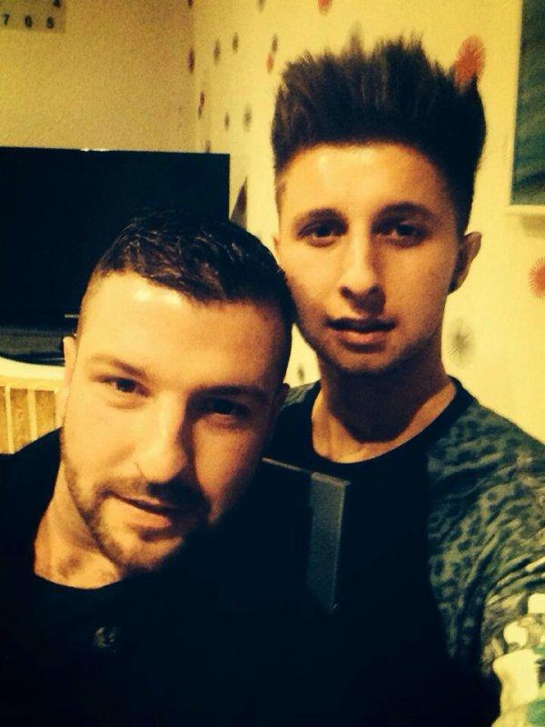 Grand frère et moi ❤️