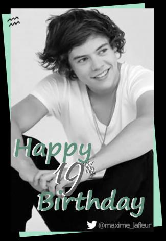 Harry Styles a maintenant 19 ans!