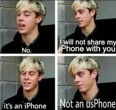 Non, je ne vais pas partager mon iPhone avec toi!