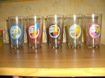Verre simpson ma collection simpson