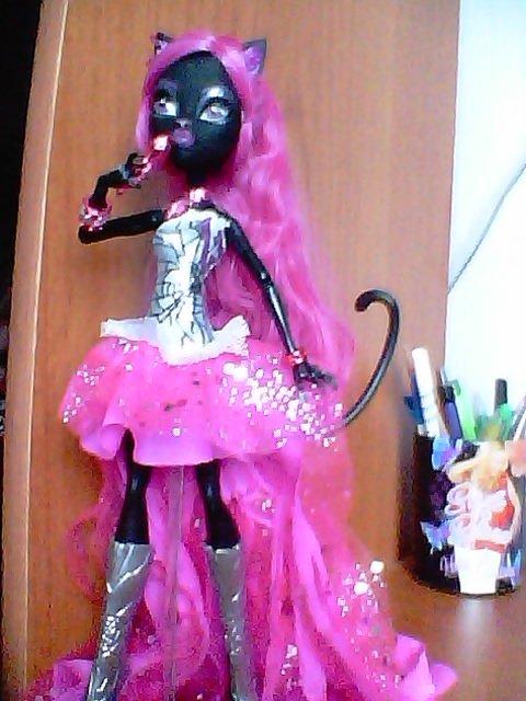 Mes 2 nouvelles Monster high twyla et Catty Noir !!!!