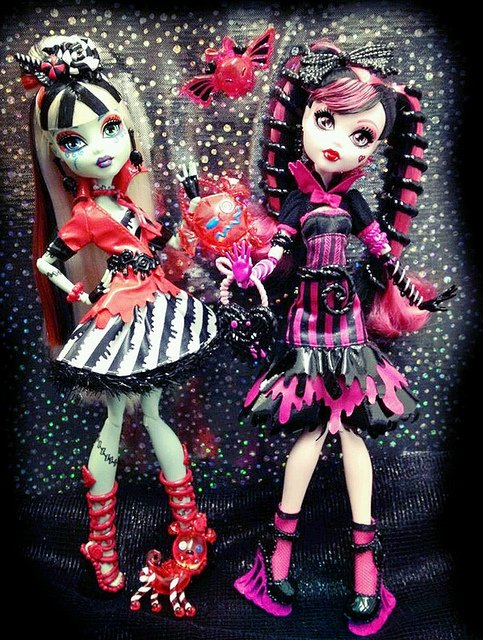 Le nouvelles monster high sweet sceam