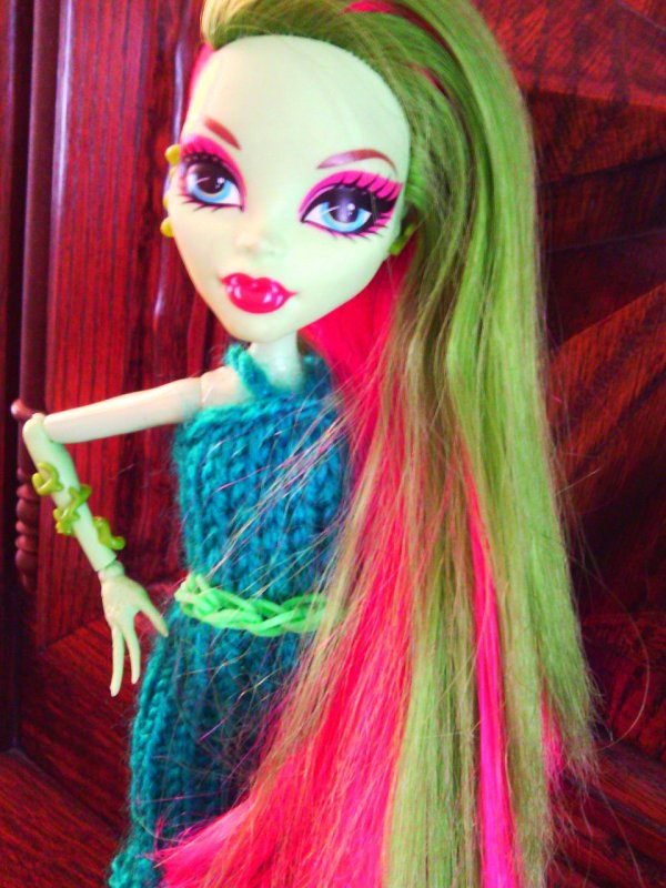 Ma nouvelle création Monster High