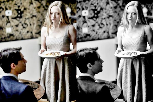 23 Octobre 2014 :  Amanda et son copain Justin ont été vu sortant du cinéma l'ArcLight du quartier d'Hollywood.