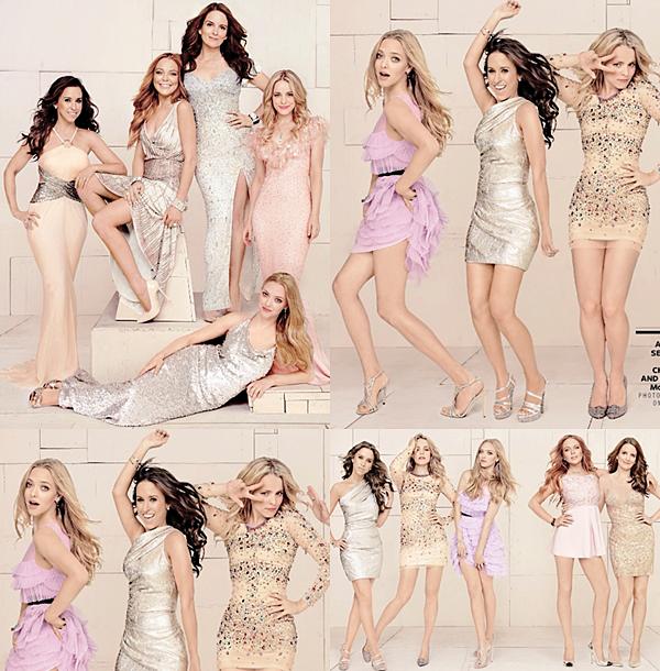 8 Novembre 2014 :  Pour les 10 ans de Lolita Malgré moi, les actrices ont participé à un shooting photo pour Entertainment Weekly.