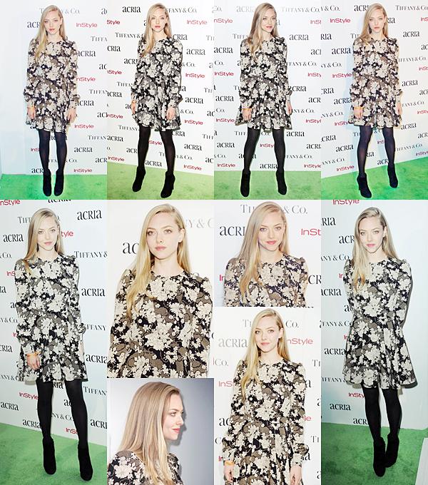 10 Décembre 2014 :   Amanda a participé au ACRIA Holiday Dinner.