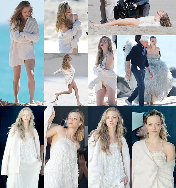 14 Février 2015 :  Amanda a été vu en train de participer à un shooting photo.