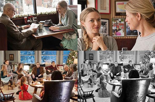 9 Mars 2015 :   Amanda et son chéri, Justin Long, ont été vu à l'Avenue pour aller déjeuner. (Paris)