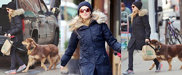 19 Mars 2015:  Amanda s'est rendue au The Daily Show avec Finn !