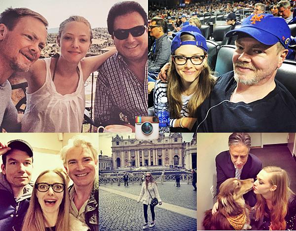 14 Avril 2015:  Amanda a été vu dans les rues de New York.