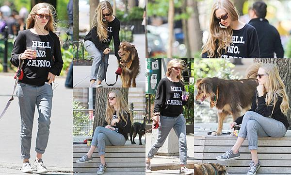 23 Mai 2015:  Amanda est allée au parc avec Finn.