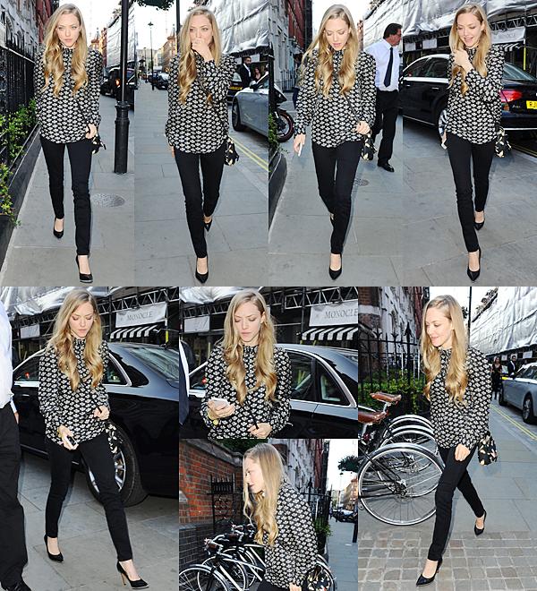 13 Juin 2015:  Amanda a été vu avec son chien Finn dans les rues de Manhattan