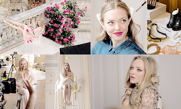 2 Juillet 2015:  Amanda était à Paris pour faire la promotion du nouveau parfum Very Irrésistible de Givenchy !