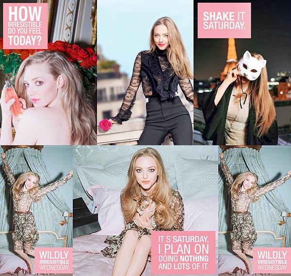Givenchy :  Cinq nouvelles photos promotionnelles pour le parfum Live Irrésistible sont apparus ! Le behind the scene de la publicité est également sorti.