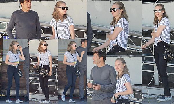 2 Octobre 2015 :  Amanda est allée déjeuner avec un ami au restaurent Madeo.