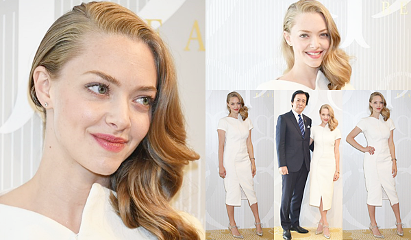 9 Octobre 2015 :  L'actrice était présente à Tokyo pour soutenir lancement de produits pour les soins de peau « Shiseido » de Clé de Peau Beauté.