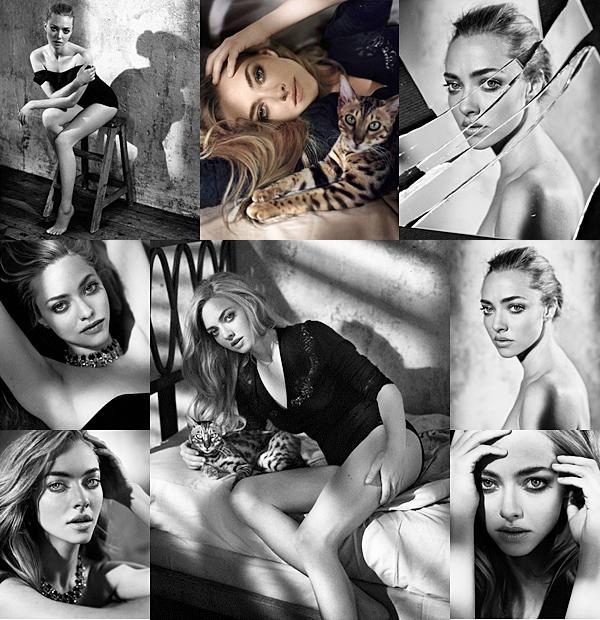 15 Octobre 2015 :  Amanda fait la couverture du magazine Glamour (Espagne).