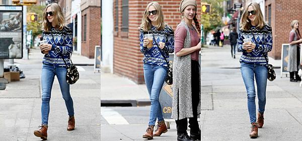 4 Novembre 2015:  Amanda est allée au The Grey Dog prendre un café. (NY)