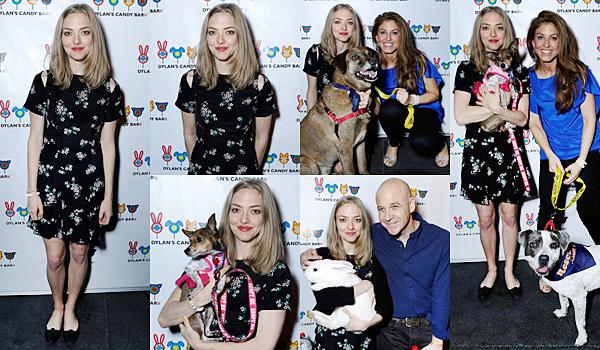 8 Décembre 2015:  Amanda a participé à l'événement : Dylan's Candy BarN Launch