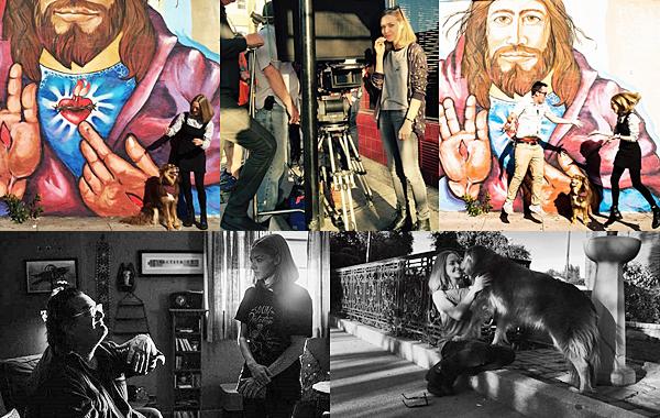 24 Février 2016 :  Amanda a été vu durant sa pause de tournage avec Finn en Californie. Elle est actuellement en train de tourner The Last Word.