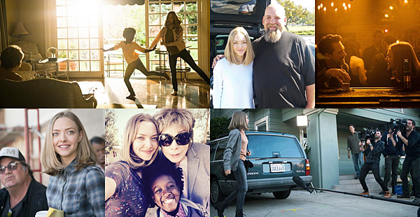 6 Mars 2016 :  Amanda a été aperçue sur le tournage de The Last Word. Elle a également été interviewée.