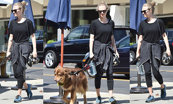 Le 25 Avril 2016  • Amanda était à Los Angeles avec Finn.