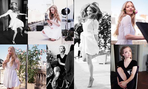 Givenchy  • Plusieurs photos du behind the scene du nouveau shoot pour le parfum Live Irrésistible sont apparues .