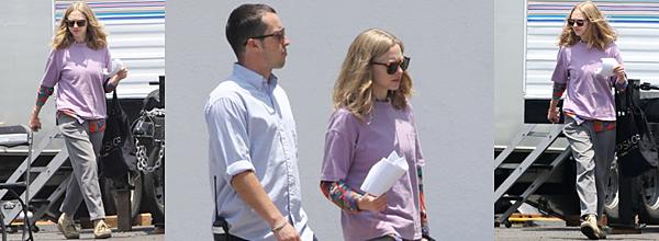 4 & 6 Juin :  •Amanda a été aperçue avec ses co-star Ed Helms et Tracy Morgan sur le tournage de The Clapper !