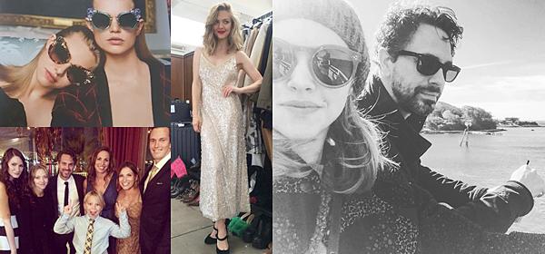 5 Octobre 2016 :  Amanda et Thomas ont été vus se promenant avec Finn.