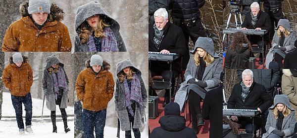 Le 3 Février 2017 • Amanda et son chéri, Thomas Sadoski ont été vus dans les rues de New York.