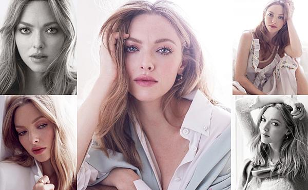 ELLE • Amanda a réalisé un shoot pour le magazine ELLE France du mois de Mars 2017. Le magazine comprenait que deux photos : celle en haut à gauche et celle en haut à droite. Amanda a posé pour le photographe Alexi Lubomirski.
