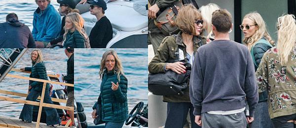 Le 8 Octobre 2017 Petit moment de détente pour notre actrice. Elle a été vue avec des amies dans les rues Croates pendant une pause de tournage.