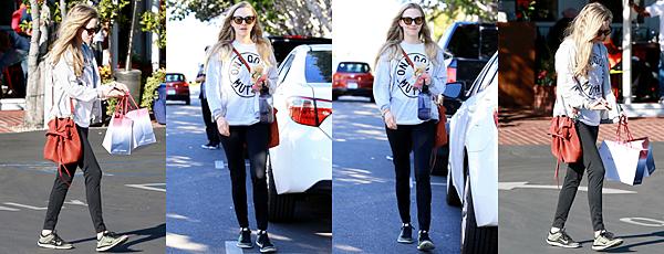 Le 18 Février 2018 Amanda est allée faire ses courses dans un petit supermarché à Los Angeles.