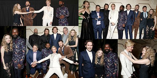 """Le 6 Mars 2018 Amanda a assisté à l'avant première de son nouveau film """"Gringo"""". Elle était vêtue d'une robe noire en dentelle de la marque H&M exclusive."""