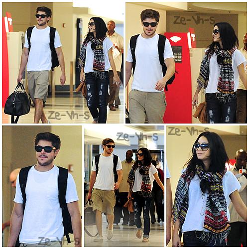 . » Rattrapage.   Les photos du départ de Zac & Vanessa de Los Angeles à Hawaii sont disponibles. Ils sont partis le 19 août de LAX.    Fanny. .