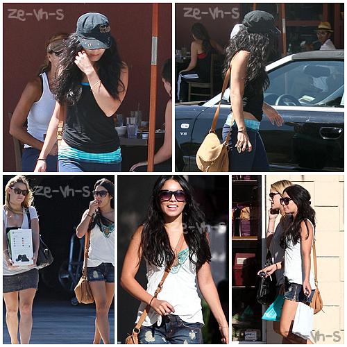 . » Rattrapage.Vanessa a été vue quittant un déjeuner dans Studio City & ensuite, marchant avec une amie qui avait acheté une Xbox, le 27 août.     Fanny. .