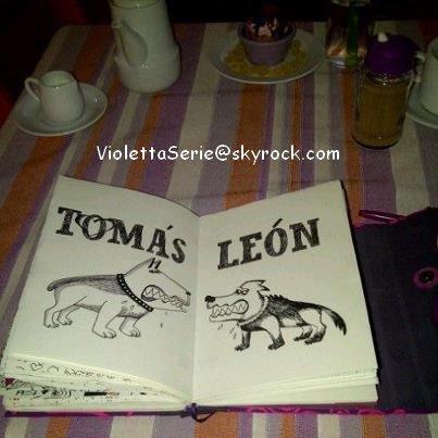 Le journal de violetta blog de violetta8888 - Tous les personnages de violetta ...