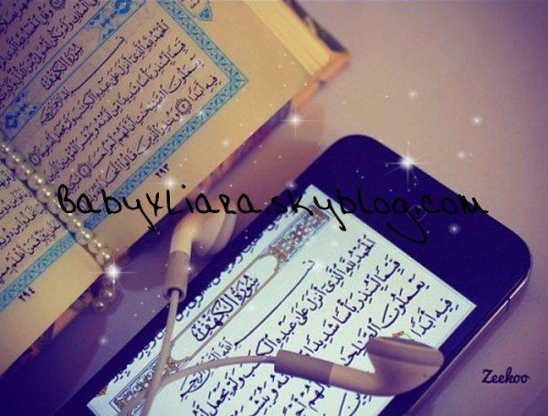 """On interrogea un homme : """"Tu ne dors pas?"""" Il répondit : """"Les merveilles du Qur'ân ont retardé mon sommeil""""."""
